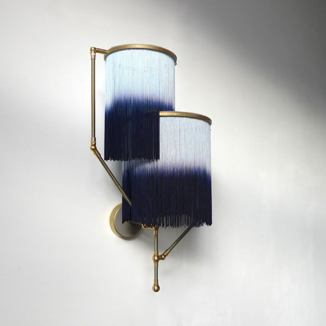 Modern Blue Charme Sconce Lamp, Sander Bottinga For Sale - Image 3 of 9