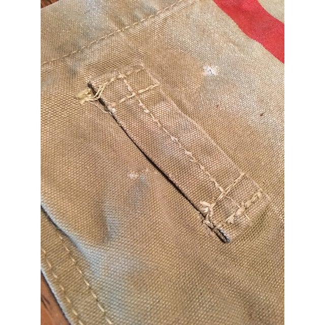 Asian 1940's Tokyo Mail Bag Japan Post For Sale - Image 3 of 8