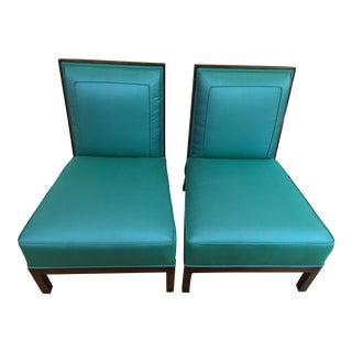 Vintage Italian Club Chairs - A Pair