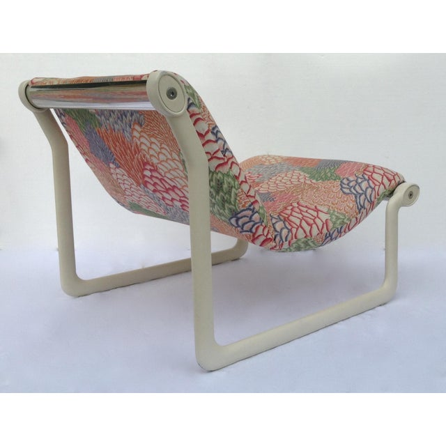 1970s Knoll Sling Lounge Chairs by Hannah & Morrison - A Pair - Image 4 of 11