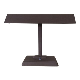 Industrial T-Shaped Desk Lamp For Sale