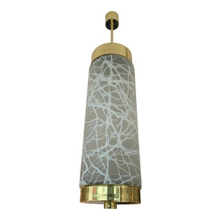 Brass Murano Glass by Esperia Pendant Lights, Italy, 1990s For Sale