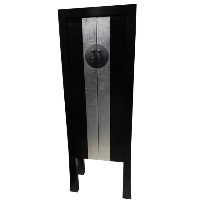 Black Lacquer Armoire - Image 1 of 10