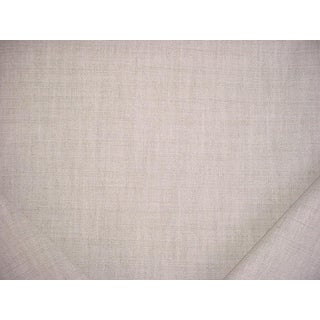 11y Holly Hunt Finest Hour Half Bleached Basket Weave Drapery Upholstery Fabric For Sale