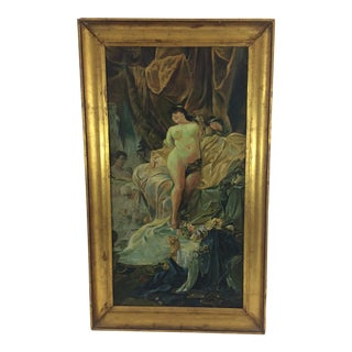 Victorian Painting of Cleopatra by Paul Freeling, 1899 For Sale