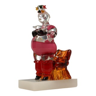 "Eva Hannah ""Geisha"" Murano Glass Sculpture For Sale"