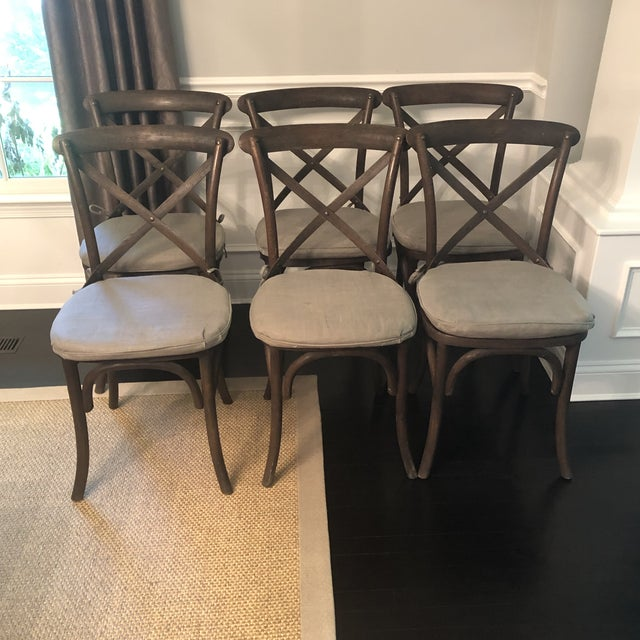 Thonet Styled Restoration Hardware Dining Chairs-Set of 6 For Sale In Washington DC - Image 6 of 13