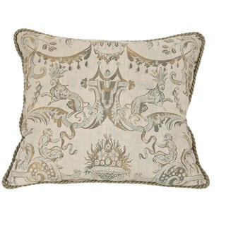 A Fortuny Pillow With Lions & Monkeys For Sale