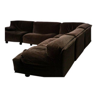 Very Large Fiandra Modular Sofa by Vico Magistretti for Cassina For Sale