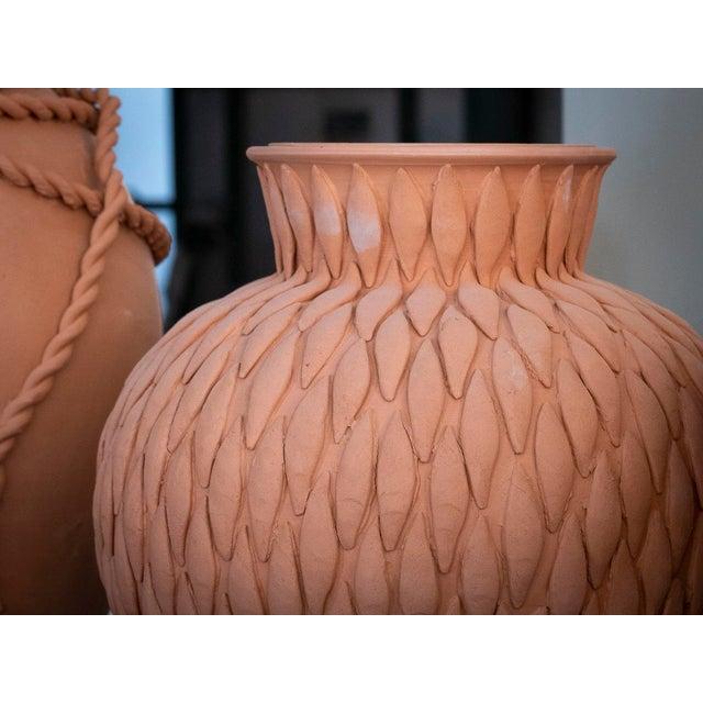Cream Cream Round Ceramic Vase with 24 Karat Gold Details, ND Dolfi For Sale - Image 8 of 10