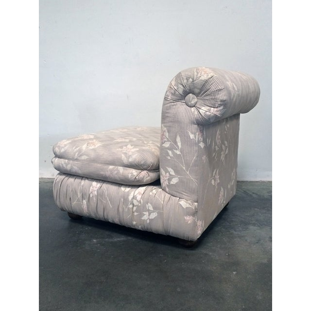 Mid-Century Modern Milo Baughman for Thayer Coggin Slipper Chair For Sale - Image 3 of 5