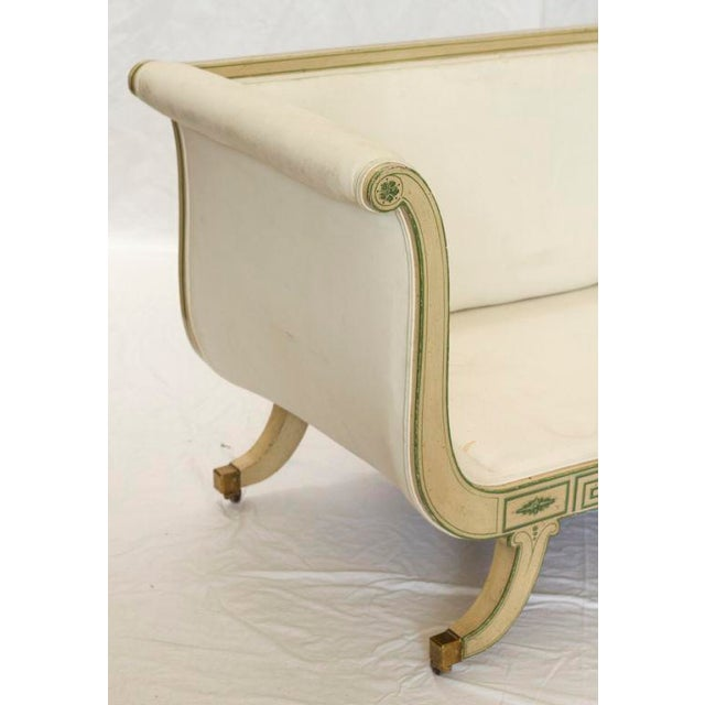 1920s 1920s Hollywood Regency Settee For Sale - Image 5 of 5