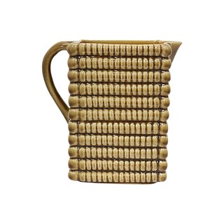 French Bistro Stacked Biscuit Advert Jug For Sale