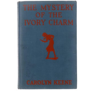 "1936 ""The Mystery of the Ivory Charm"" Collectible Book For Sale"