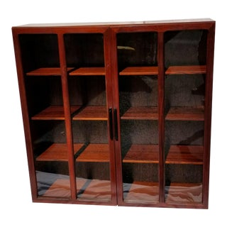 1950s Vintage Brazilian Rosewood Cabinet For Sale