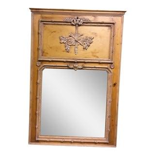 Trumeau Pine Wall Mirror