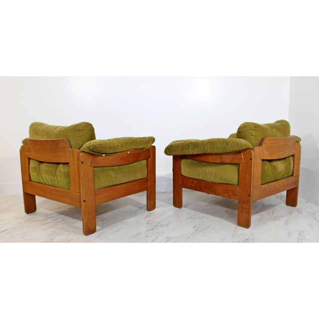 Pair of 1960s Mid-Century Modern N. Eilersen Danish Lounge Chairs For Sale In Detroit - Image 6 of 12