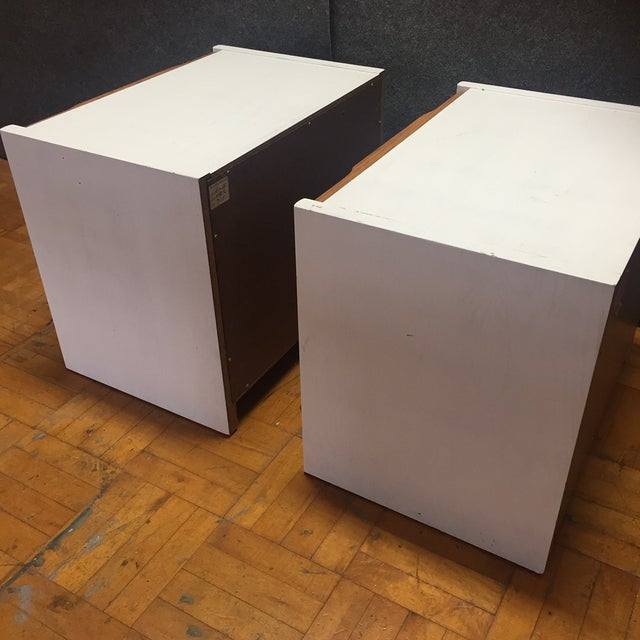 Barzilay Solid Wood Drawer Nightstands - Pair For Sale - Image 10 of 10