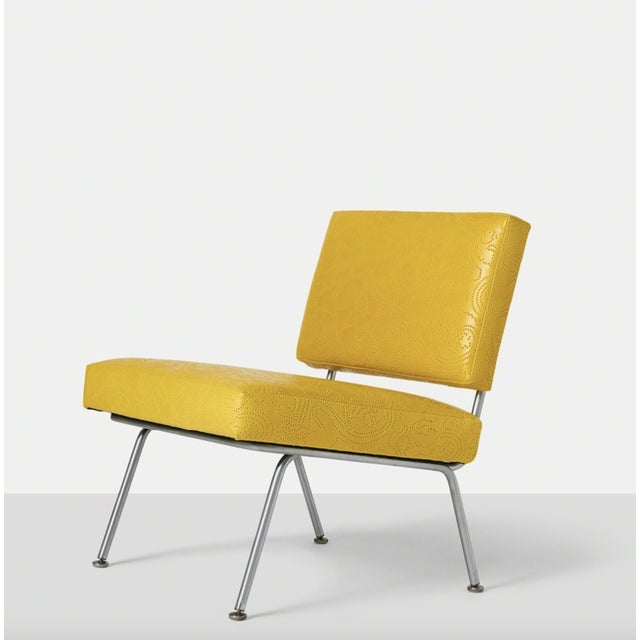 Bauhaus Set of Five Florence Knoll Chairs Model #31 for Knoll International, Ca. 1954 For Sale - Image 3 of 10