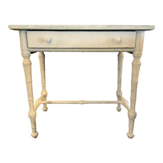 Late 19th Century French Faux Bamboo Writing Desk For Sale