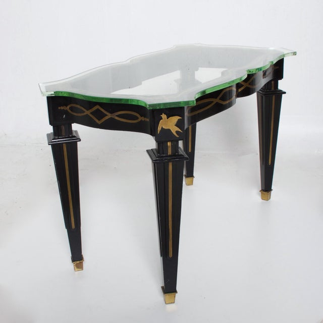 Mid-Century Mexican Modernist Fleur De Lis Side Table by Arturo Pani For Sale - Image 11 of 11