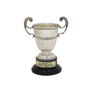1930 English Army Sports Trophy For Sale