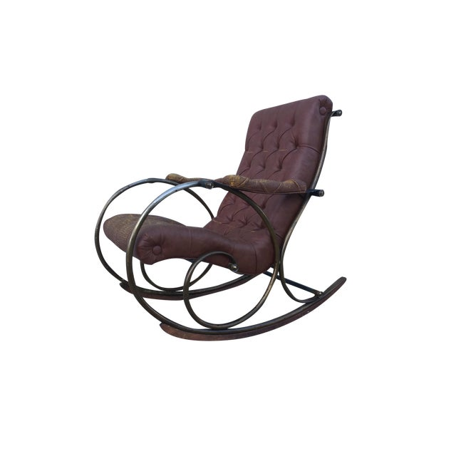 1960's Lee Woodard and Sons Rocking Chair - Image 1 of 11