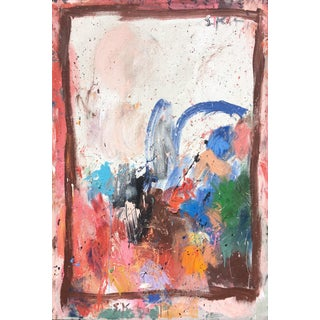 Abstract Painting, 'Let's Spend the Night Together' by Sean Kratzert For Sale