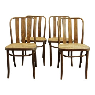 Vintage 811 Prague Chairs- Set of 4 For Sale