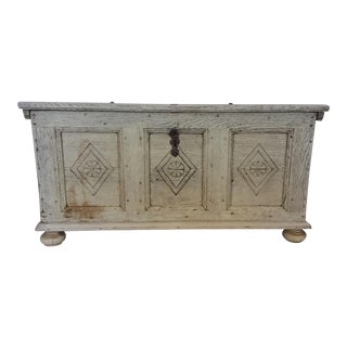 18th Century Bleached Dutch Trunk For Sale