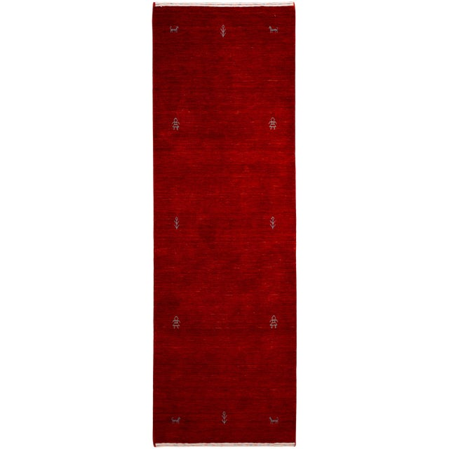 21st Century Contemporary Gabbeh Rug For Sale