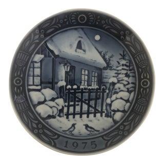 1975 Georg Jensen Inc. Christmas Plate For Sale