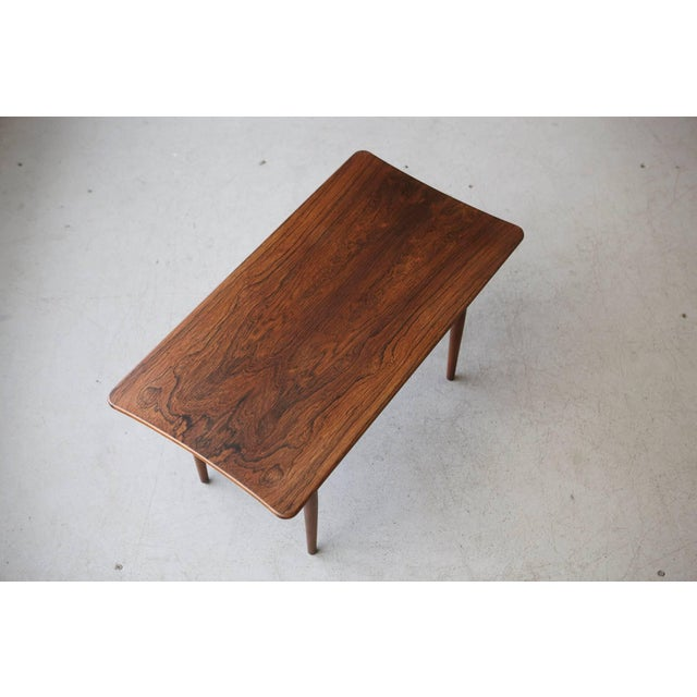 Wood 1960s Vintage Rosewood Coffee Table by Kurt Østervig for Jason Møbler For Sale - Image 7 of 11
