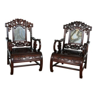 Rosewood Chinese Chairs For Sale