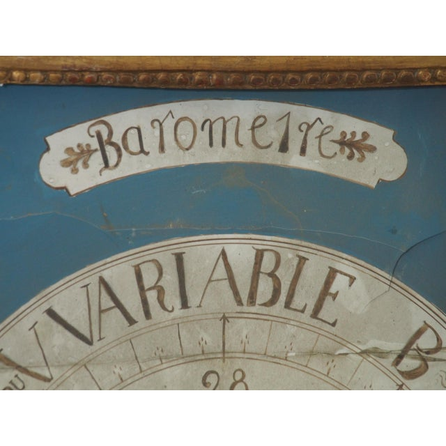 18th Century French Gilt Wood Barometer For Sale In New Orleans - Image 6 of 10
