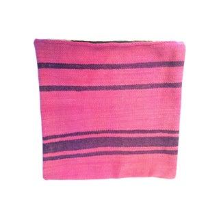 Fuchsia Moroccan Kilim Pillow Cover #2