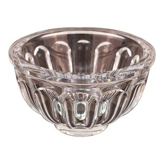 Orrefors Modern Crystal Bowl Dish For Sale