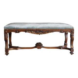 Antique French Provincial Bench For Sale