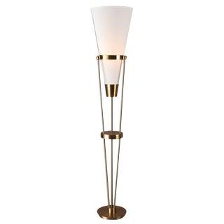 Mid Century Modern Six Foot Floor Lamp
