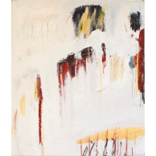 """""""When I Was Younger, I Believed in a Plan"""" Contemporary Abstract Expressionist Mixed-Media Painting by Brian Jerome For Sale"""
