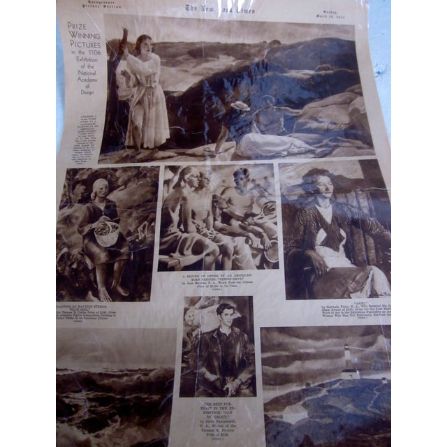 48 Laminated Newspapers from 1940s - Image 3 of 7