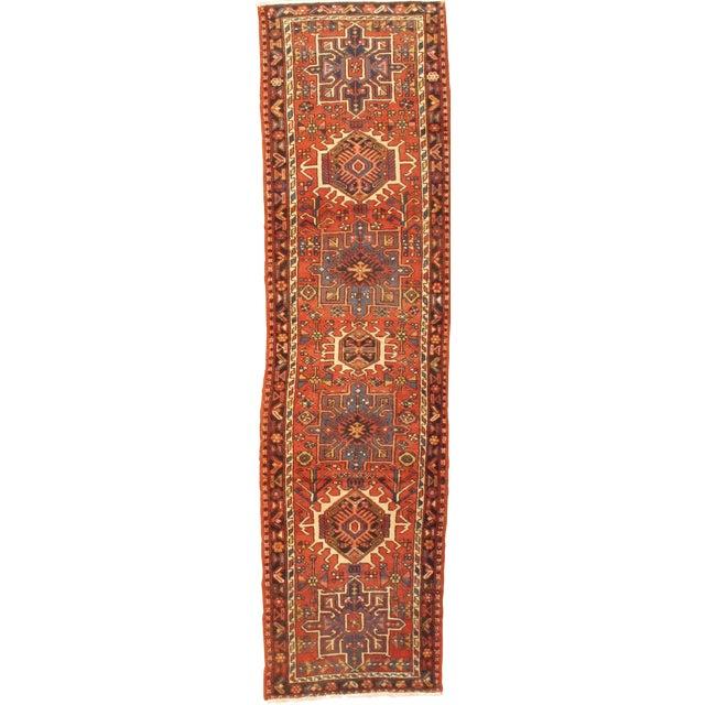 "1920's Antique Persian Karajeh Rug - 2'9""x10'5"" For Sale"
