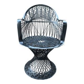 Russell Woodard Spun Fiberglass Chair For Sale