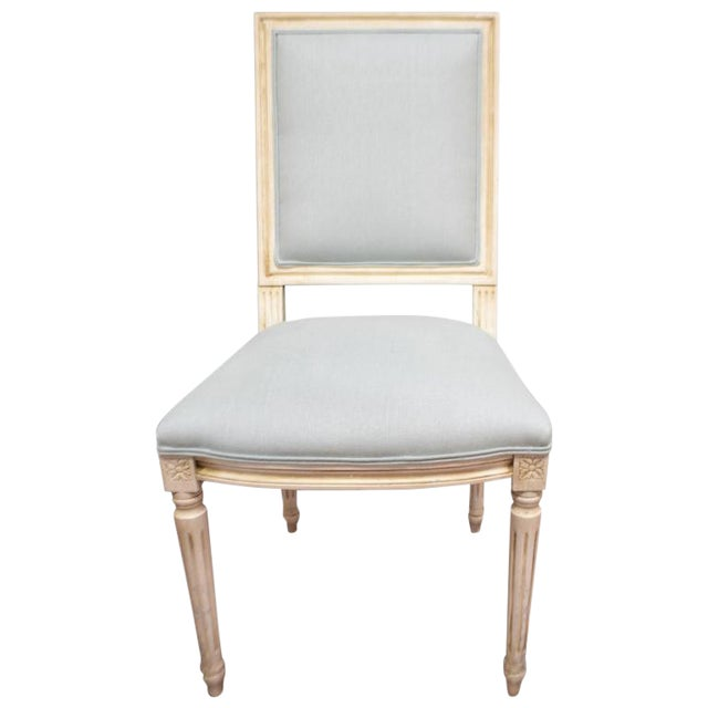 Louis XVI Style Square Back Dining Chairs for Custom Orders For Sale