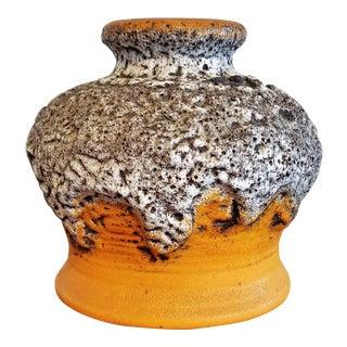 1970s Volcanic Dümler & Breiden Fat Lava Vase For Sale