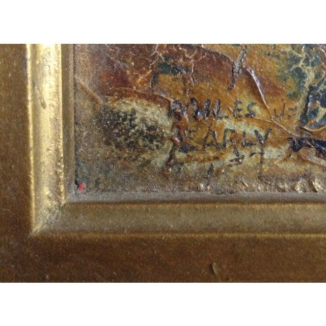 """""""El Arbol"""" Oil Painting by Miles J. Early - Image 4 of 6"""