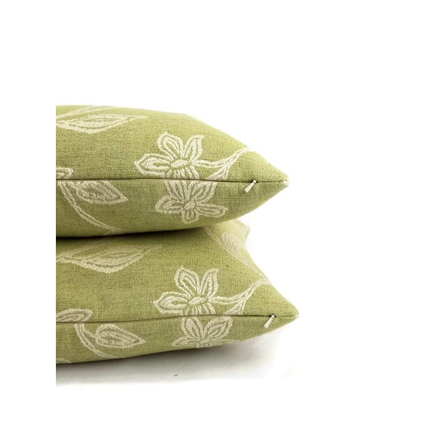 Not Yet Made - Made To Order Colefax and Fowler Kenrick Floral Jacquard Pillow Cover For Sale - Image 5 of 6