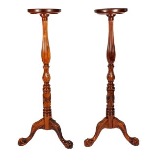Mid-20th Century Plant Stand / Fern - A Pair For Sale