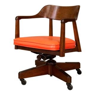 Vintage Mid-Century Modern Swivel-Tilt Office / Desk Chair