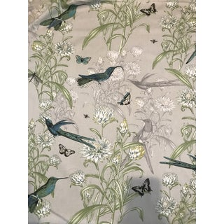 Blendworth Menagerie Enchanted Forest Cotton Fabric 6 Plus Continuous Yards For Sale